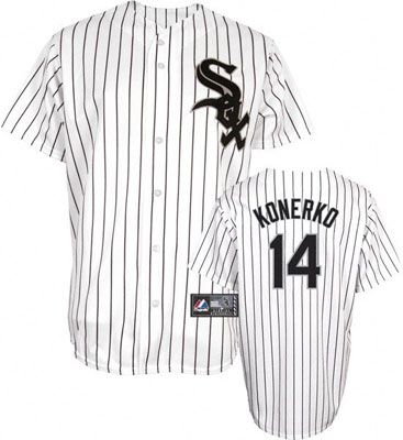 ... YOUTH JERSEY SIZE SMALL Chicago White Sox A J Pierzynski 12 Black Authentic  Jersey Sale. Paul Konerko 14 White Authentic ... 2735bbb29