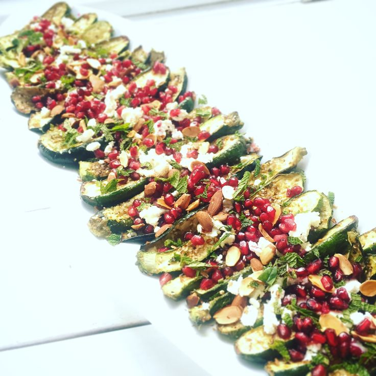 New to the blog: My Beautiful baked zucchini is up and it is SO SO easy! Enjoy x