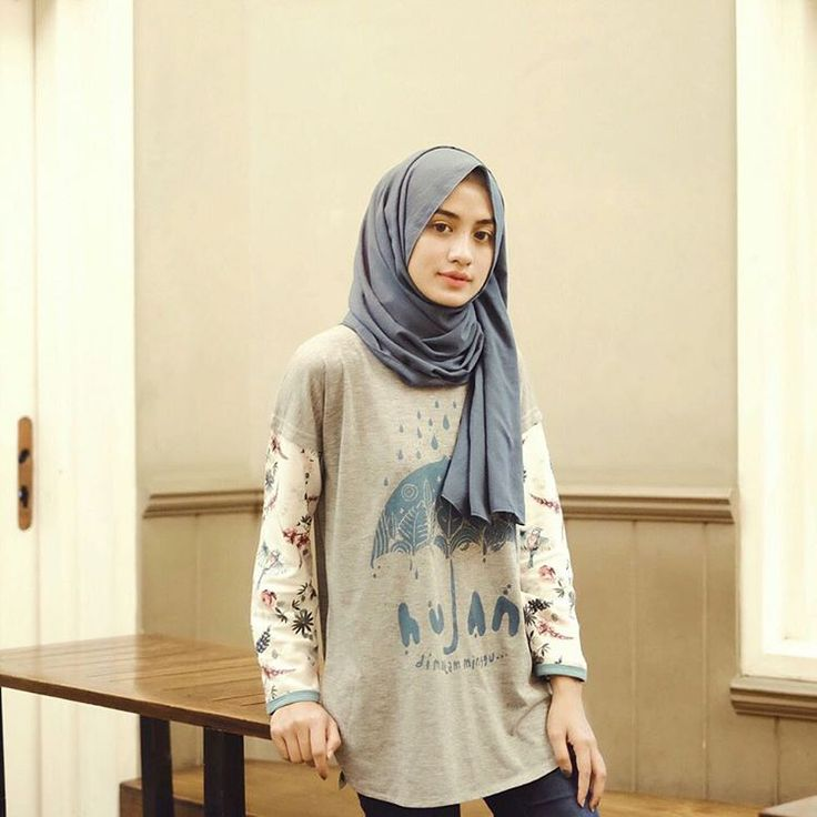 Pin By Hasna Uswatun Nisa On Casual Hijab Style Pinterest Instagram Hijab Outfit And Ootd