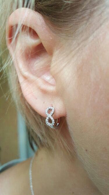 Cute Silver Infinity Shape Earrings infinity earrings, infinity jewelry, david yurman infinity earrings, sterling silver infinity earrings, snowflake earrings, silver hoop earrings, morganite earrings, gold hoop earrings, tanzanite earrings,  diamond earrings, knot earrings, silver earrings, infinity stud earrings, gold infinity earrings, infinity shape earrings, infinity symbol earrings, luxury infinity earrings, 925 infinity earrings