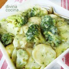 Brócoli a la crema con patatas