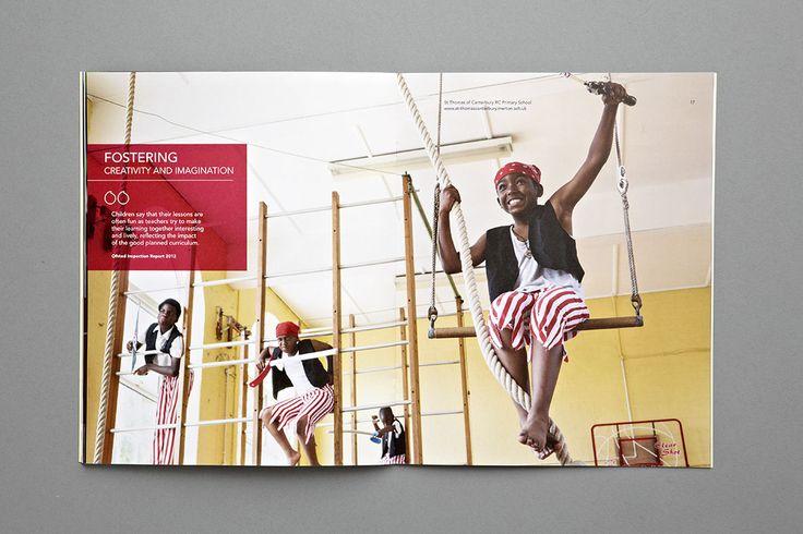 St Thomas of Canterbury School Prospectus - Ofstead - Carr Kamasa Design - London
