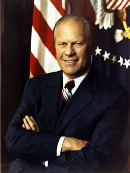 Gerald Ford Thirty-Eighth President of the United States, Term 1974-1977