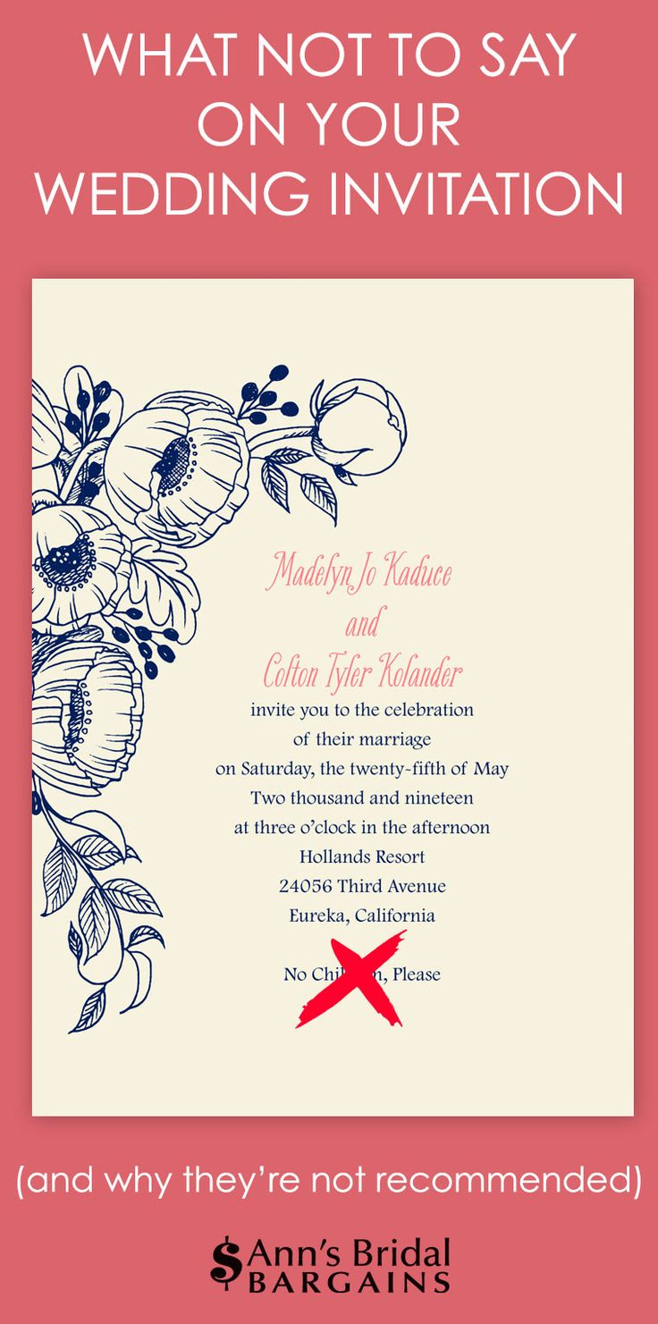 Wedding Invitation Wording Requires Four Key Pieces Of Information Who S Getting Married Hosting