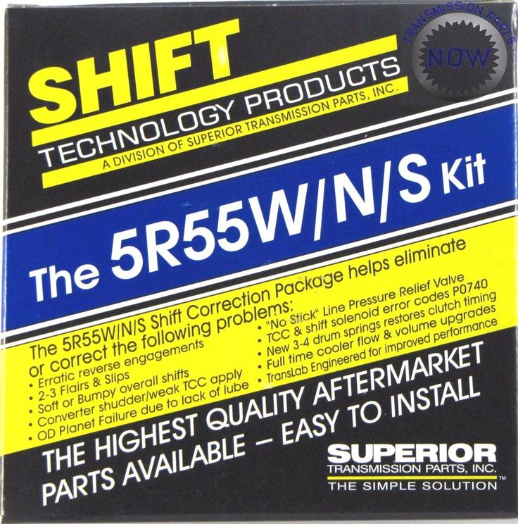 Ford Superior 5R55W/N/S Shift Correction Kit Ford Lincoln Mercury Upgrade 46165S #FordLincolnMercuryExplorerMountaineer