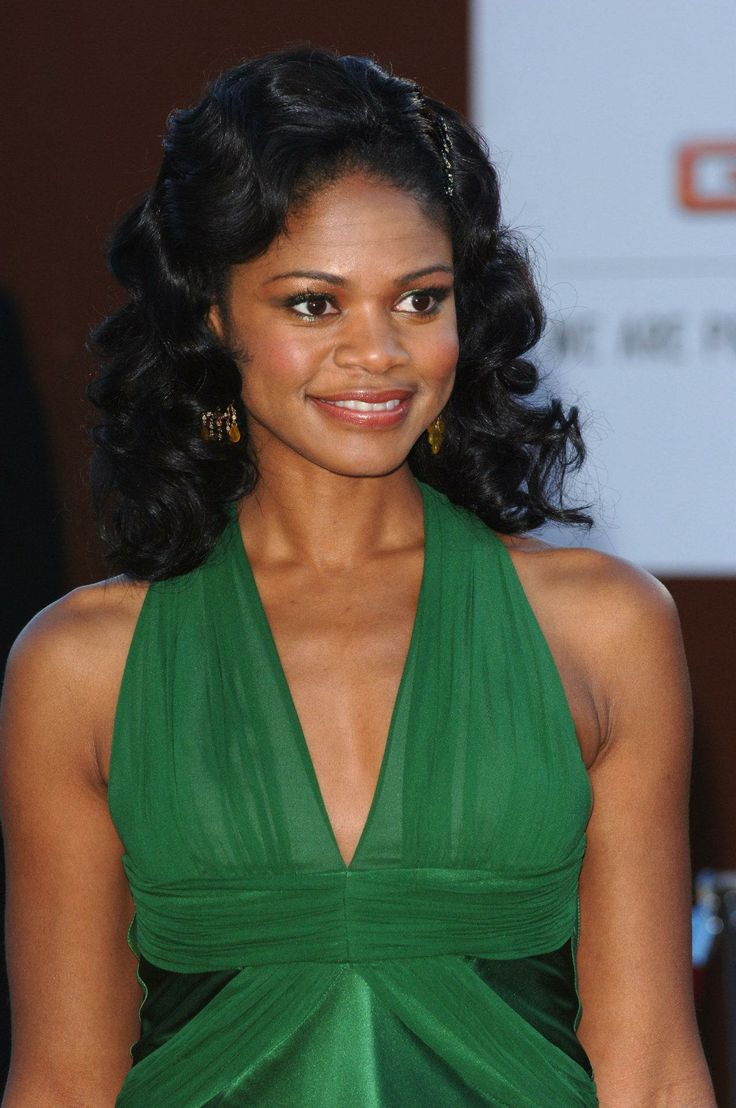 Kimberly Elise  Gorgeous  and extremely talented. Yet another  black actress underutilized in Hollywood, just saying.