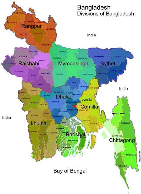 Asia Map Bangladesh.Beautiful Bangladesh And Division Lrb Travel Team Pinterest
