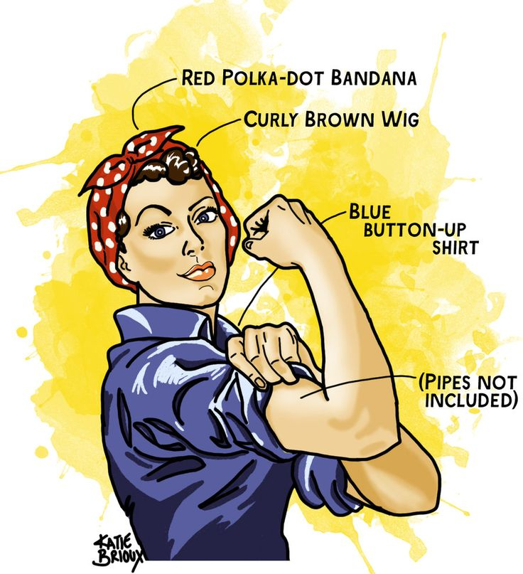 Rosie the Riveter  by ~iheartmanga  Digital Art / Drawings / Illustrations / Storybook©2010-2012 ~iheartmanga  rosie the riveter, halloween costume idea  graphic for the concordian newspaper