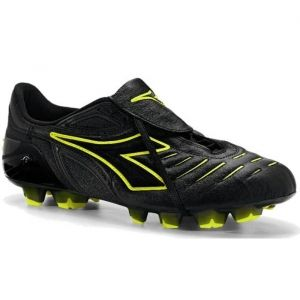 SALE - Diadora Maracana RTX 12 Soccer Cleats Mens Black Leather - Was $97.99 - SAVE $23.00. BUY Now - ONLY $74.99