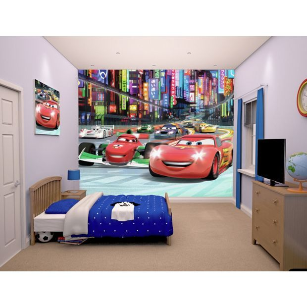 Lovely Buy Walltastic Disney Cars Wallpaper Mural At Argos.co.uk   Your Online  Shop For Murals And Wall Stickers, Wallpaper, Painting And Decorating, Homeu2026