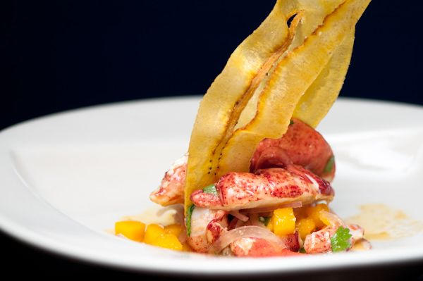 North Atlantic Lobster Ceviche, Passionfruit, Mango, Red Onion ...