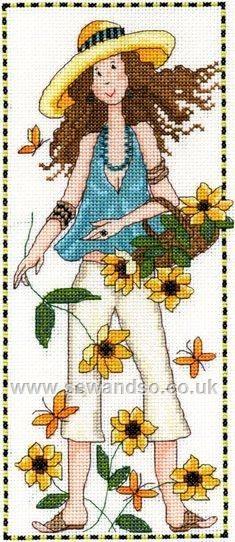 Buy Abigail Cross Stitch Kit online at sewandso.co.uk
