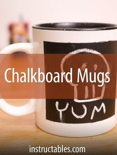 Change the message or drawing your mug any time you want! Super fun gift for Father's Day or any gift-giving holiday.