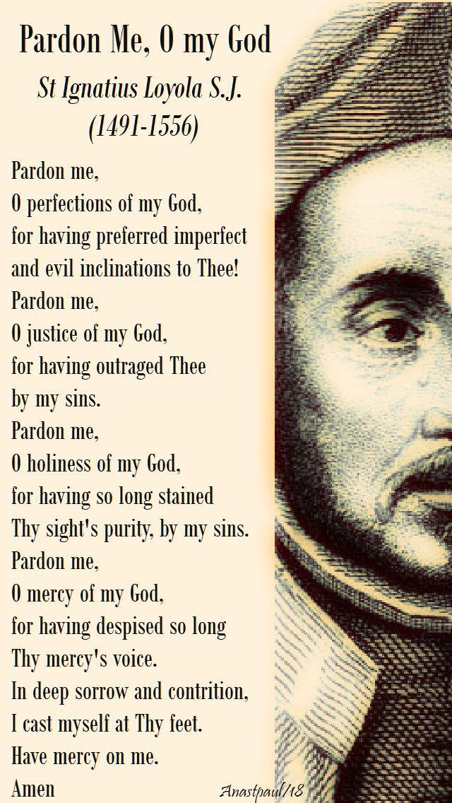 Prayer of St. Ignatius of Loyola