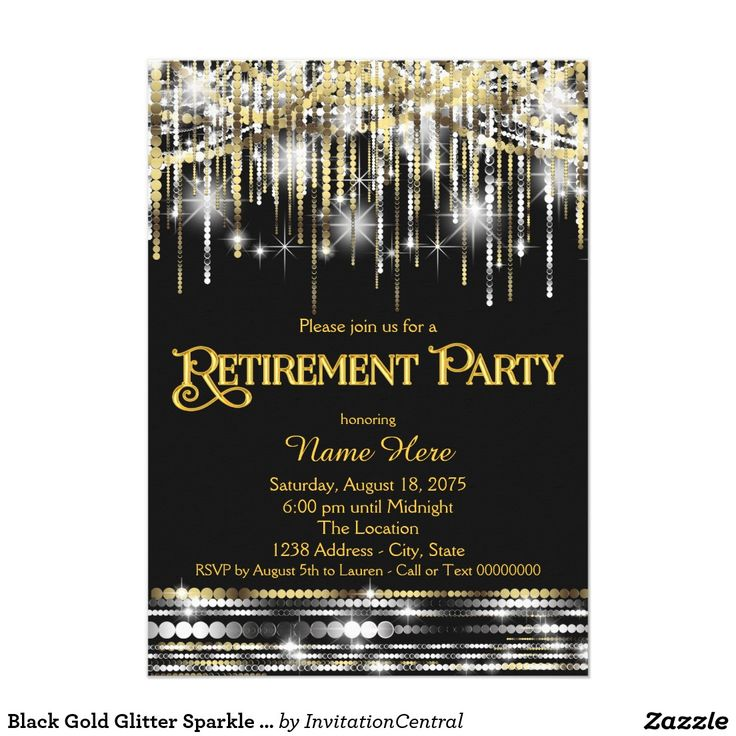 The 36 best Retirement Party Invitations Ideas images on Pinterest ...