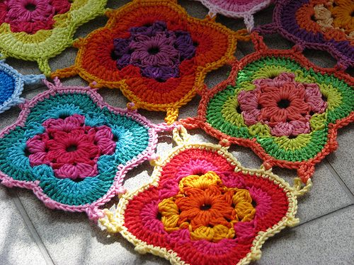 i love how these are joined.. #inspiration_crochet_diy GB ...