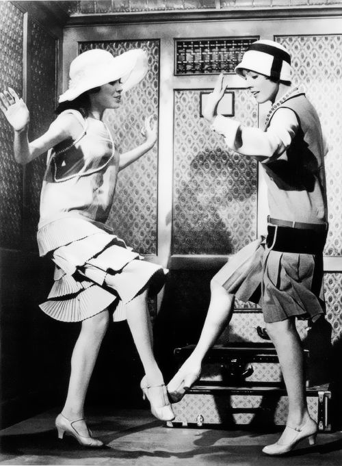 "Mary Tyler Moore and Julie Andrews in ""Thoroughly Modern Millie"""
