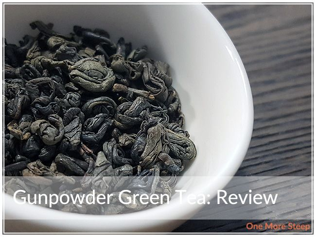 Review of Pure Leaf's Gunpowder Green Tea on One More Steep
