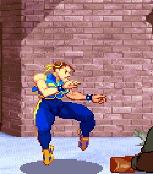 Street Fighter Alpha, arcade.