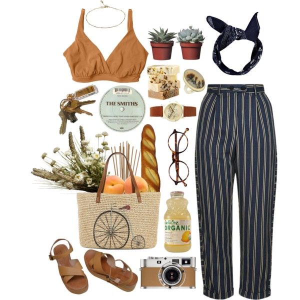 Farmers market by idta on Polyvore featuring Topshop, Bella Materna, MELLOW YELLOW, Straw Studios, ASOS, Jamie Joseph, Sterling Essentials, Boohoo, Retrò and Abigail Ahern