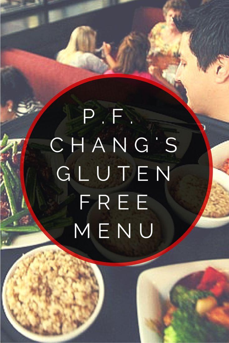 P.F. Chang's Gluten Free Menu #glutenfree #asian #chinese