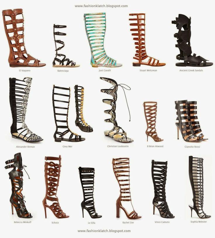 Fashion Trend Spring/Summer 2014: Gladiator Sandal Boots