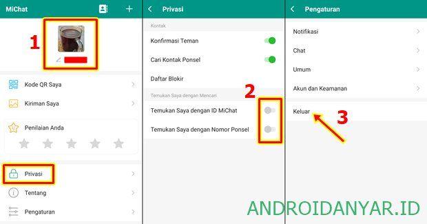 Cara Menghapus Akun Michat Terbaru Lewat Hp Android Penghapus Android Aplikasi