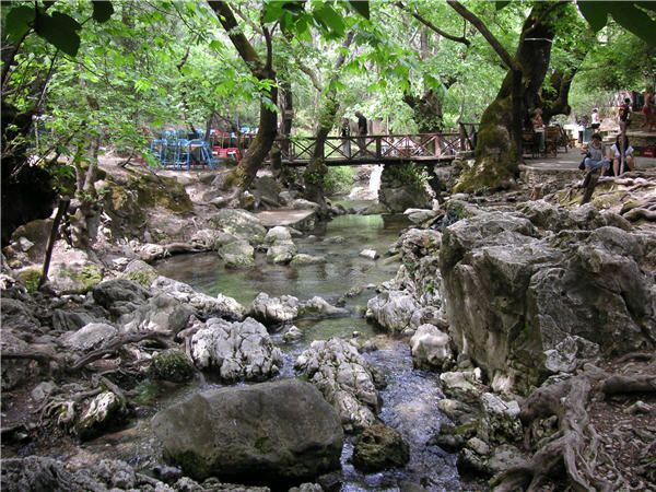 Epta Piges (means Seven Springs), Rhodes