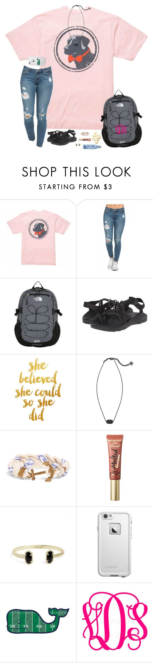 """""""Don't forget to enter the two contests I have going on! (Read D!)"""" by hopemarlee ❤ liked on Polyvore featuring Southern Proper, The North Face, Chaco, Kendra Scott, Brooks Brothers, Too Faced Cosmetics, LifeProof, Vineyard Vines, preppybrandcontest2k16 and hawaiispringbreak2k16"""