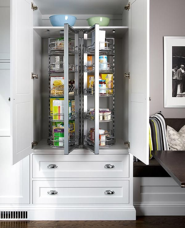 metal pantry cabinet metal pantry carousel kitchens photos 23274