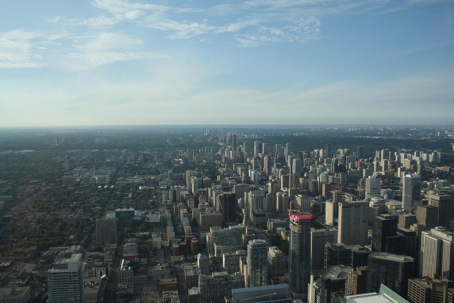 I have no words to describe this awesome view from the top of CN Tower.