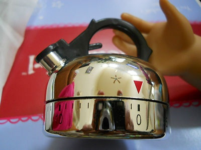 Kettle Timer Fits American Girl Doll Accessory Tea Kettle