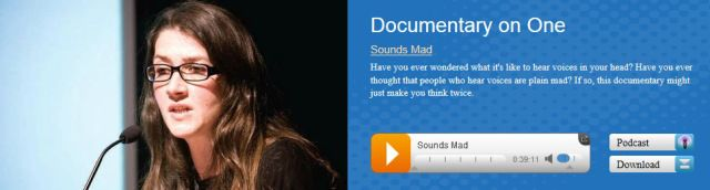 Jacqui Dillon Sounds Mad Jacqui recently featured in a an RTÉ radio documentary entitled 'Sounds Mad' in which she discusses her personal experience of hearing voices, and her work for the Hearing Voices Network.