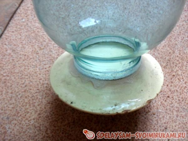Напольная ваза своими руками