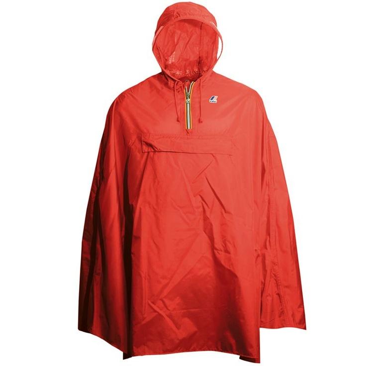 K-way Poncho Mantella Pioggia Mantellina Antipioggia Giacca a Vento 00040909   eBay