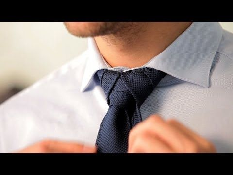 How to Tie a Merovingian Knot | Men's Fashion - YouTube