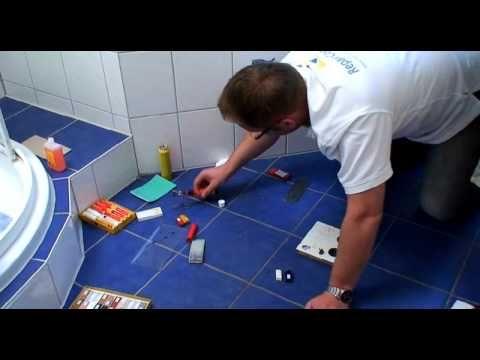 ▶ Repair Concepts Fliesenreparatur - YouTube