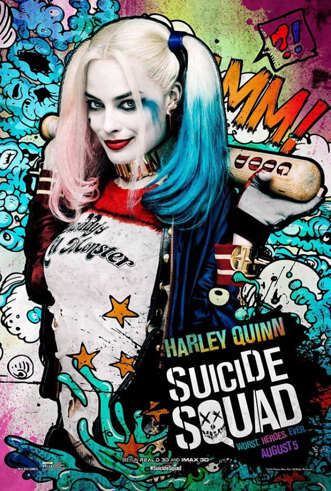 Me and my sister saw Suicide Squad. It's amazing, incredible, mind-blowing and brilliant! I love it! 8/5/16