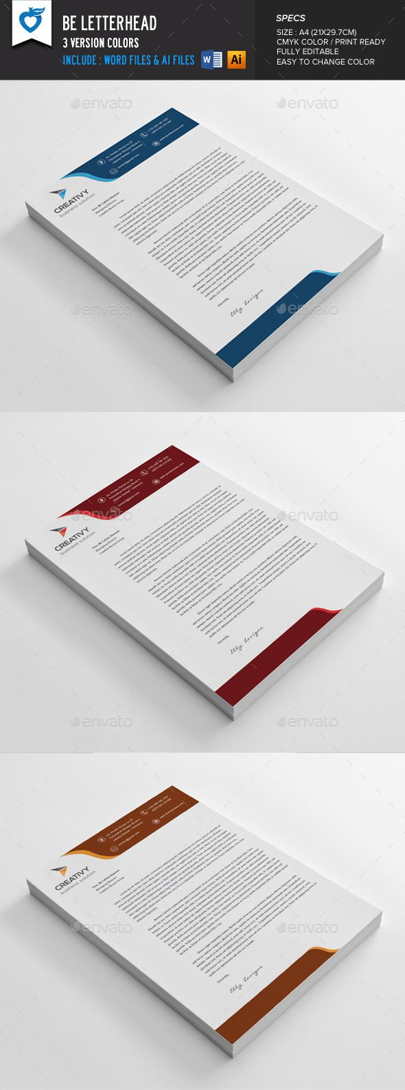 Book Cover Template Word Free Download ~ 105 best letterhead template images on pinterest letterhead