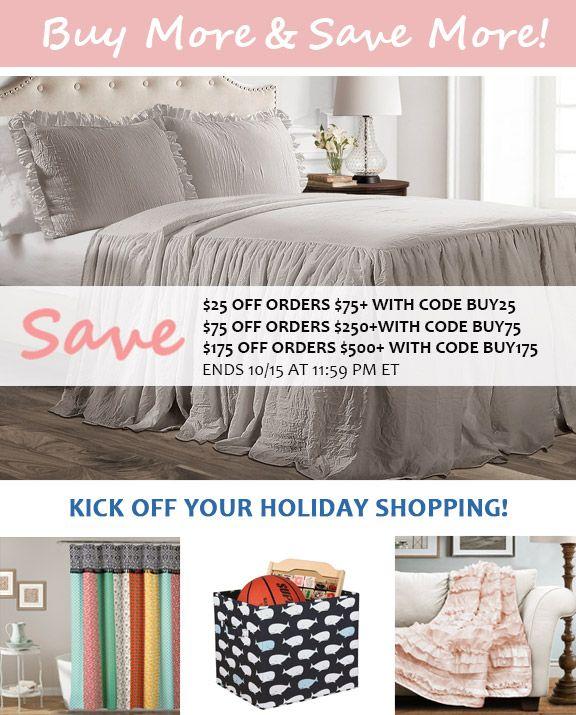 Buy More Save More Sale Home Decor Online Lush Decor Affordable Boho