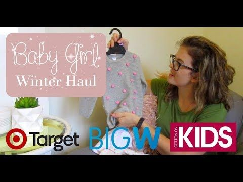 Baby Girl Winter Clothing Haul! - YouTube