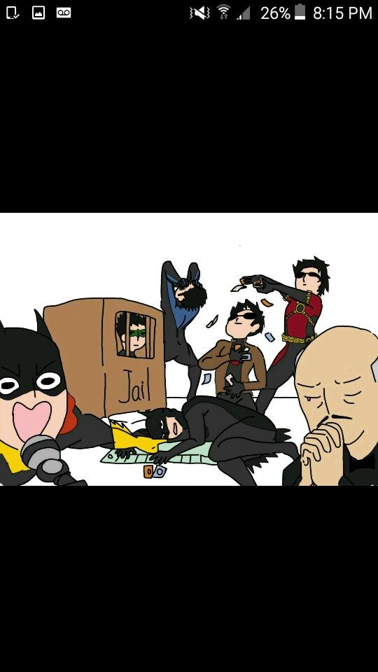 Damiam and Alfred look lile the only ones who are sober.... I'm sort of scared.