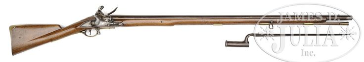 "BROWN BESS ""Militia & Marine"" PATTERN MUSKET DATED 1759."