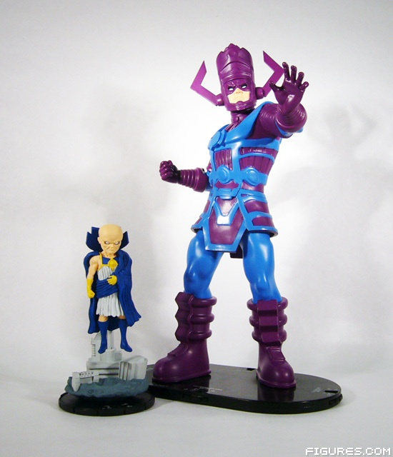 Free Comic Book Day Hulk Heroclix: Uatu And Galactus From The Upcoming Galactic Guardians