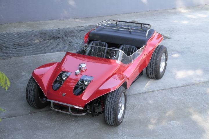 Thomas Crown Affair replica car. Steve McQueen drove a modified Meyers Manx in his beach scene.