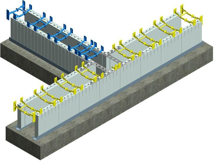 for Styrofoam concrete walls
