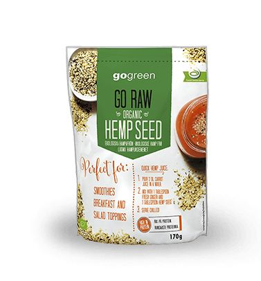 Go Raw Organic Hemp Seed