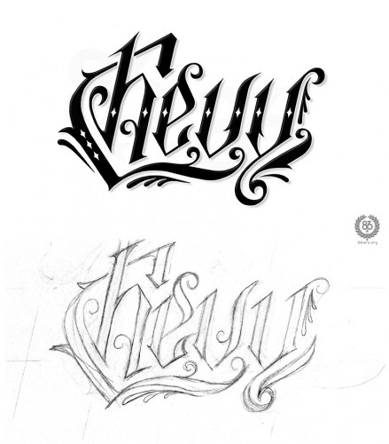 Chevy bowtie tattoo designs for girls