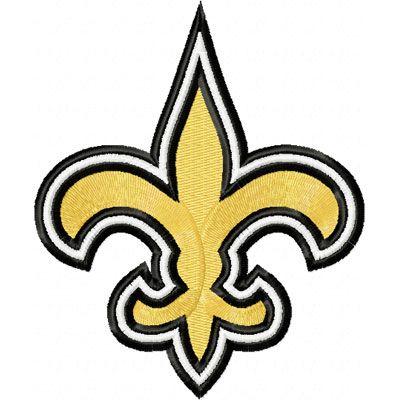 New Orleans Saints Logo embroidery design