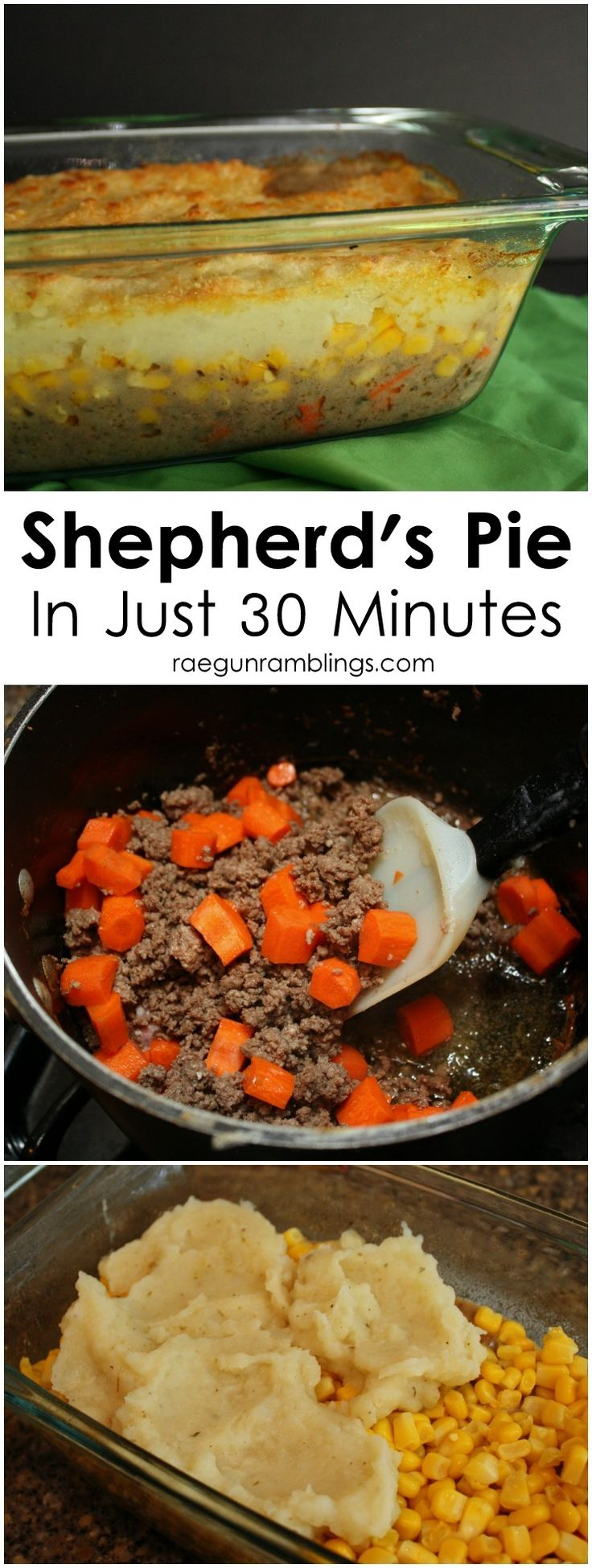 the best shepherd's pie recipe. So quick and easy. Great addition for St. Patrick's Day and Pi Day #WeekNightHero #Ad